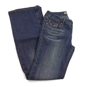 YMI Jeans 7 Juniors Button Fly Embroidered Pockets